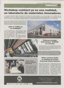 workshop contract en la voz de galicia